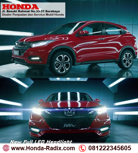 Honda HR-V Facelift Surabaya