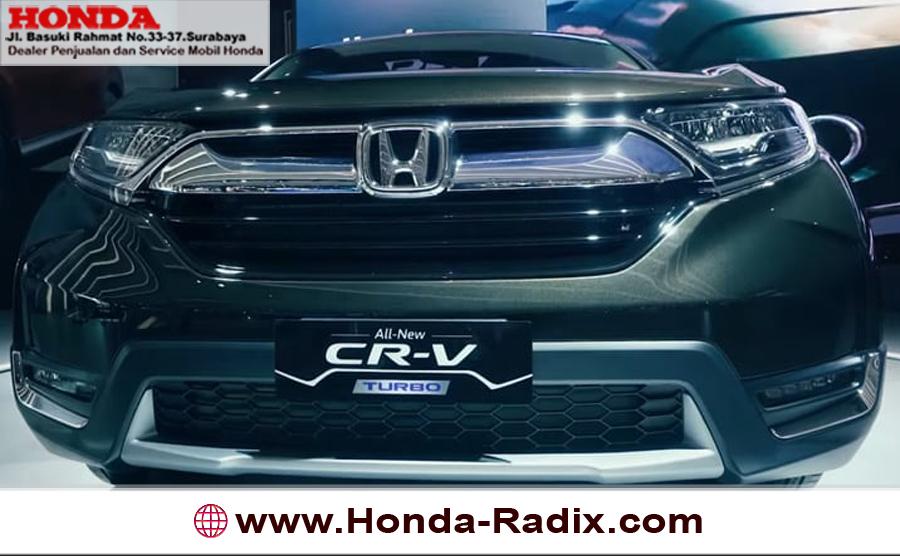 Spesifikasi & Harga All New Honda CR-V 2018