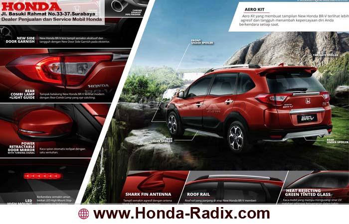 Eksterior Honda BRV Surabaya