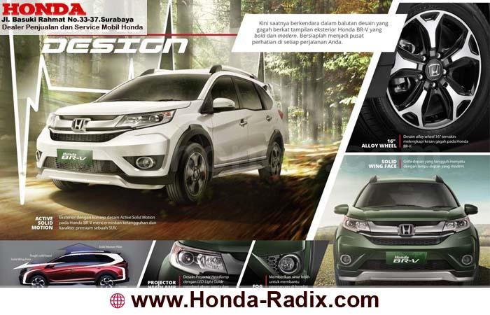 Eksterior Honda BRV 2018 Surabaya