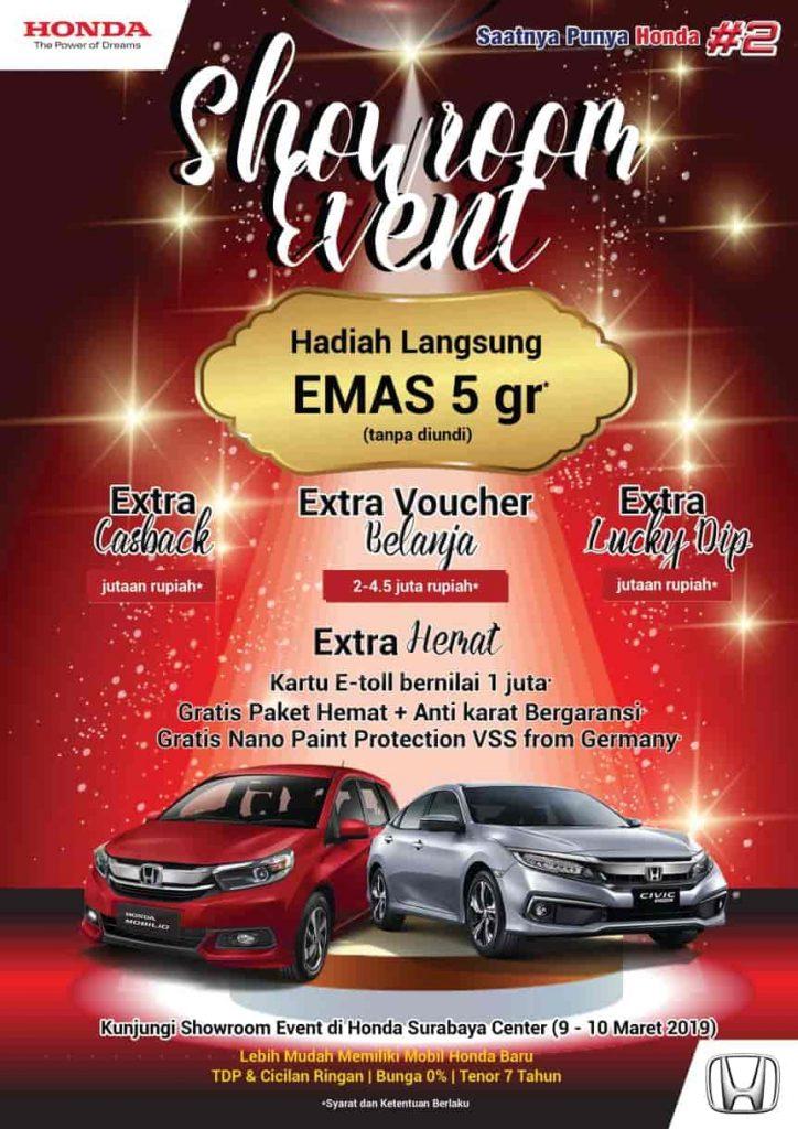 Honda-Showroom-Event-Hadiah-Langsung-Emas-5gr-Tanpa-Di-Undi|Update Maret-2019