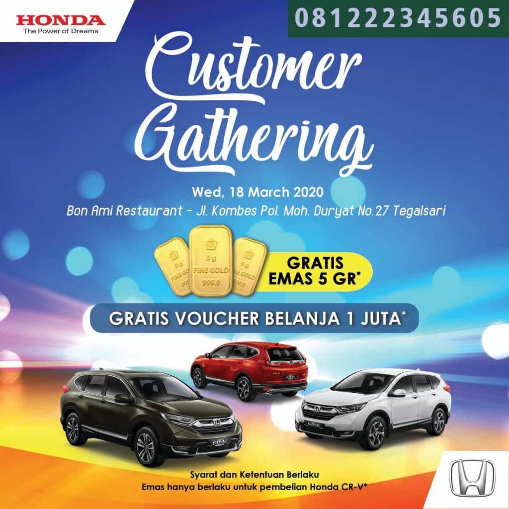 honda customer gathering