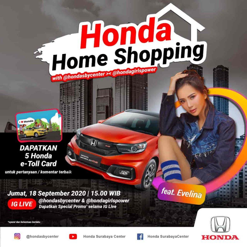 honda home shopping hanya di dealer honda surabaya murah