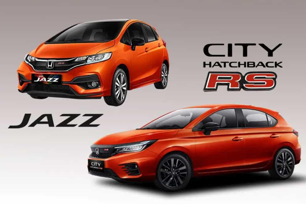 Perbedaan Mobil Honda City Hatchback dan Honda Jazz